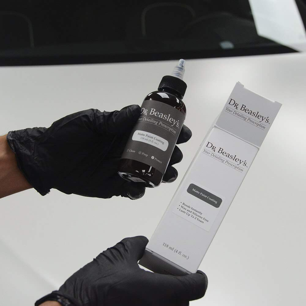 Dr. Beasley's Matte Paint Coating -4 oz., Durable and Hydrophobic, Resists UV Fading, Readily Biodegradable by Dr. Beasley's