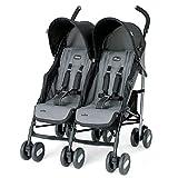 Chicco Echo Twin Stroller, Coal