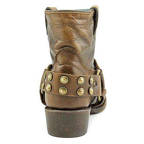 Corral Womens Harness And Studs Ankle Boots Sierra Tan RewXP1iK