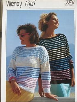 b5886222a Knitting Pattern Wendy 3371 Capri Cotton dk weight 76-102cms (30-40