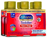 Enfagrow PREMIUM Toddler Next Step, Natural Milk Flavor - Ready to Use Liquid, 8 fl oz, Pack of 4 (6 count)