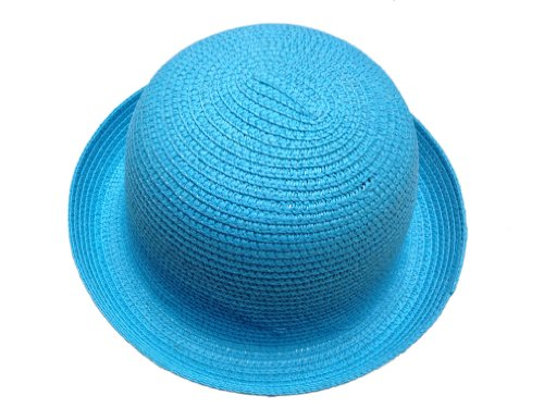 Lady Straw Bowler Visor 11colors