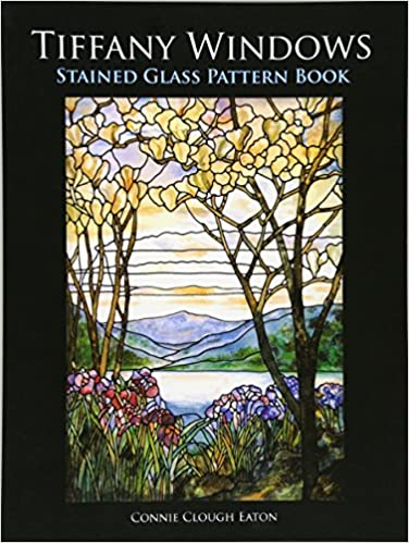 Tiffany Windows Stained Glass Pattern Book Dover Stained Glass