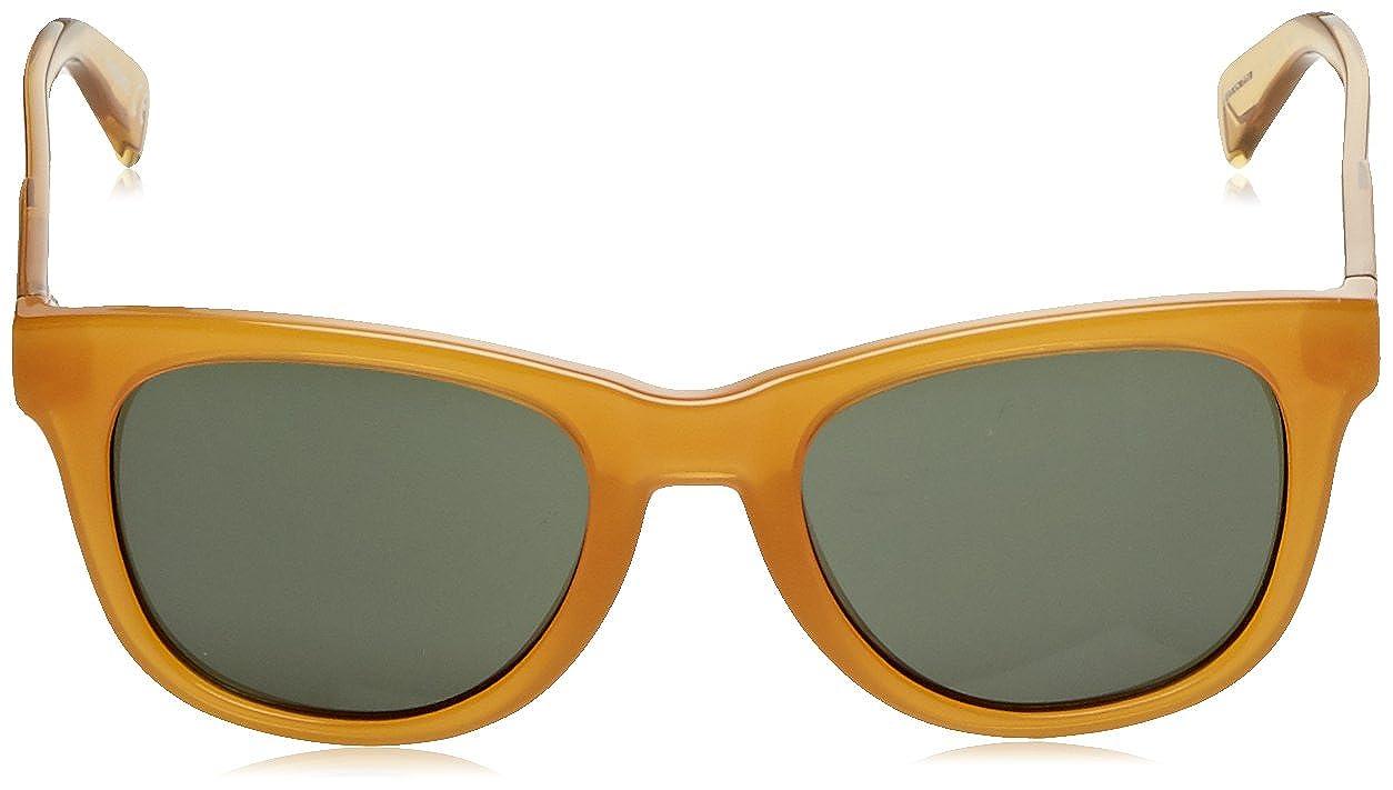 Amazon.com: Diesel DL0135/S 41 N ámbar Wayfarer anteojos de ...
