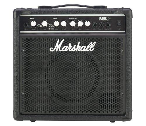 15 Bass Combo Amp - Marshall MB15 8-Inch 15-Watt Bass Combo Amp