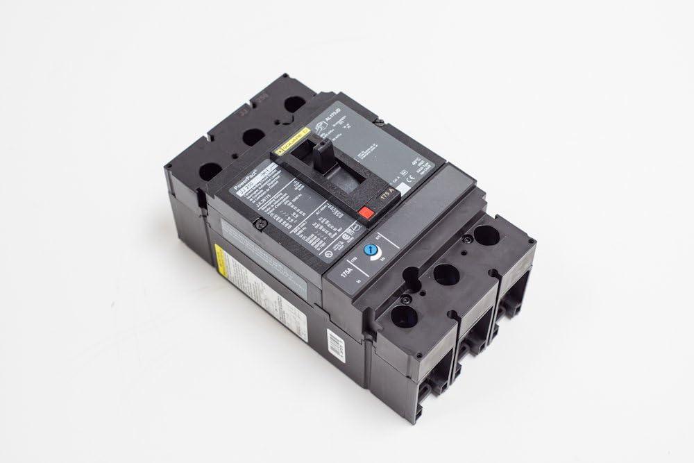 SCHNEIDER ELECTRIC 600-Volt 200-Amp JDL36200 Molded Case Circuit Breaker 600V 200A