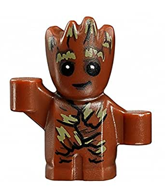 Baby Groot mini figure building block compatible figure Guardians of the Galaxy vol. 2 collectible figure 76081