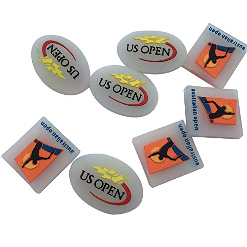nis racket vibration dampeners Shock Vibration Dampener Absorber(pack of 10) ()