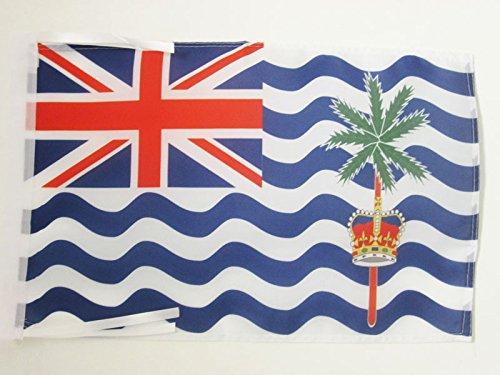 BRITISH INDIAN OCEAN TERRITORY FLAG 18'' x 12'' cords - BRITISH SMALL FLAGS 30 x 45cm - BANNER 18x12 in - AZ FLAG
