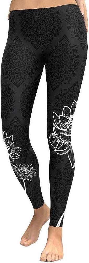 OYSHOE Damen Leggins Workout Fitness Sports Gym Laufen Athletic Yoga Hose Jogginghose Sporthose