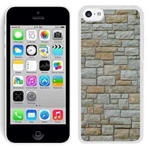 New Beautiful Custom Designed Cover Case For iPhone 5C With Texture Stone (2) Phone Case