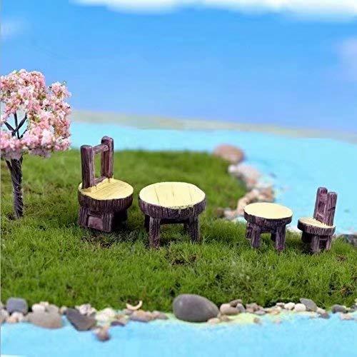 RUIYELE - Puente de jardín en miniatura para decoración de casa de muñecas, jardín, decoración del hogar: Amazon.es: Bricolaje y herramientas