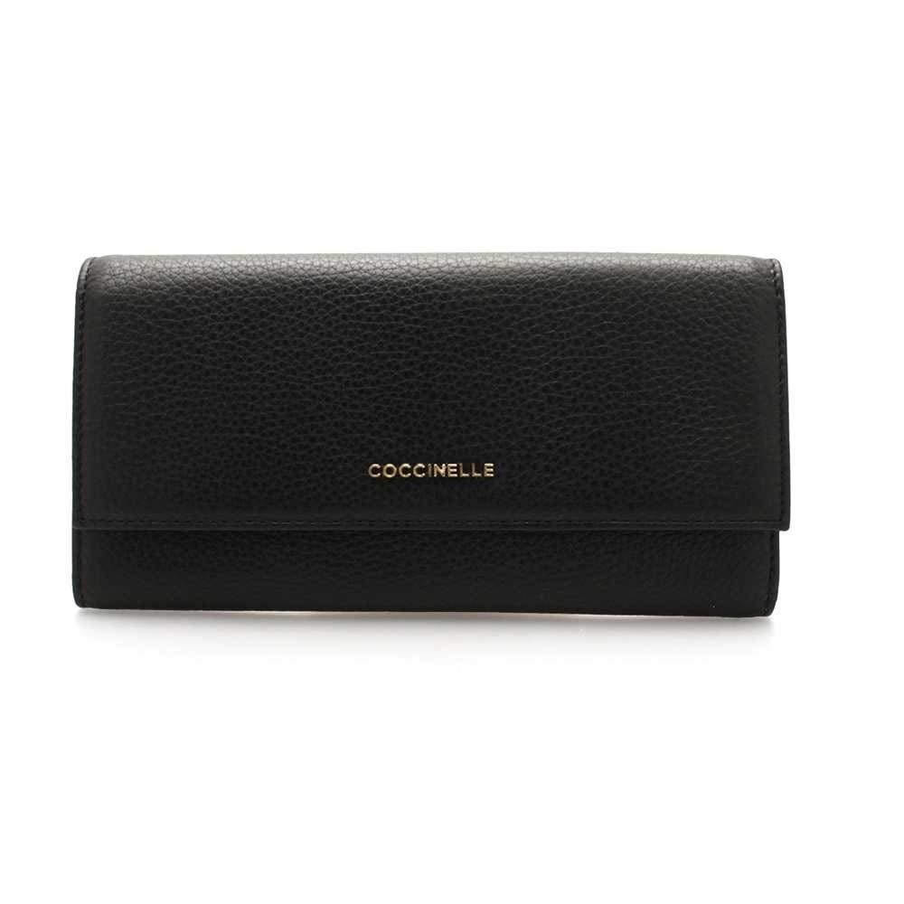 Black Wallet E2dw5110301001Amazon Female Leather Coccinelle co n8OPN0wkX