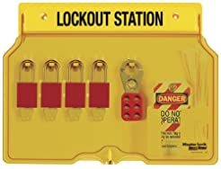 Master Lock Lockout Tagout Station, Cove...