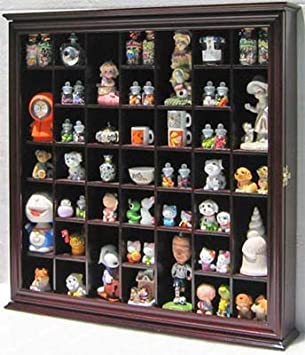 Amazoncom Collectible Display Case Wall Curio Cabinet Shadow Box - Display shelves collectibles wall shelves for collectibles display