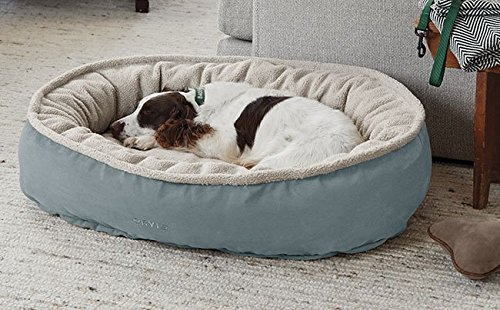 Orvis Comfortfill Wraparound Dog Bed with Fleece/Small Dogs