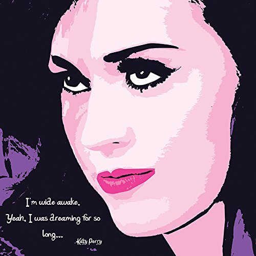 Katy Perry by Kelissa Semple Art Print Poster I'm Wide Awake Prism Teenage Dream