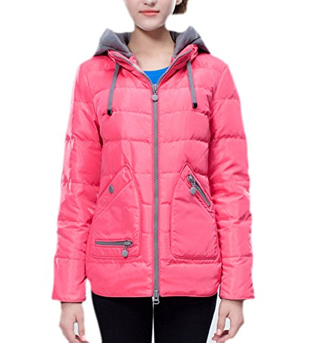 Short 175 Jacket Winterparka XL and Autumn Mantel Paragraph Winter Ladies 92486 Casual Damen Sublevel Down Hooded Wintermantel H 1a6wxynPAq