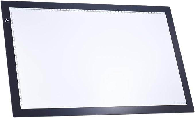 Aibecy A2 LED Mesa Tableta Caja de Luz Dibujo Portátil Control de ...