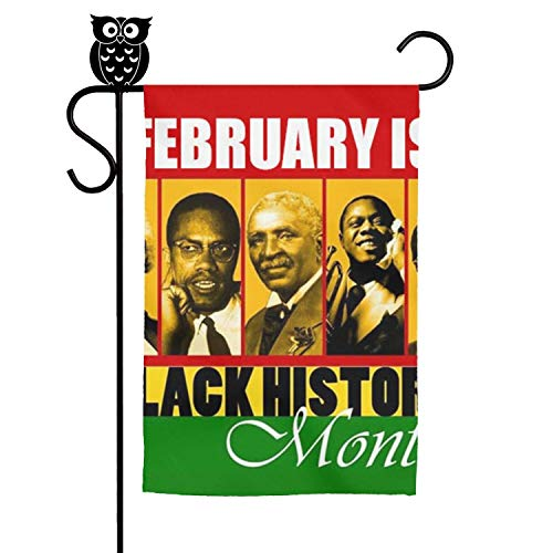 LAIDIAN Welcome Garden Flag 12 18 Inch Black History Month Resources Vertical Decorative Flags
