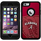 Alabama - Watermark design on Black OtterBox Defender Series Case for iPhone 6 Plus and iPhone 6s Plus