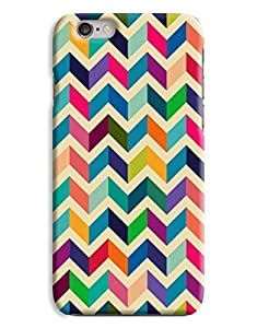 Colourful Chevrons iPhone 6 Plus Hard Case Cover