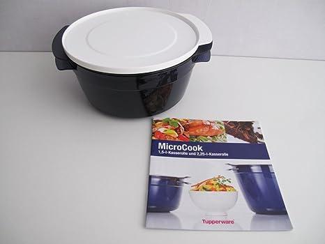 TUPPERWARE Micro Cook 1,5 L Cook micro plus azul redondo ...