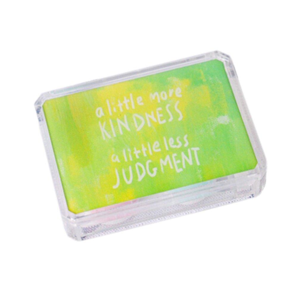 Korean Contact Lens Case Lenses Holder Travel Portable Len Glasses Box NO.10
