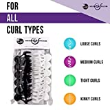 CURLY HAIR SOLUTIONS - Roller Jaw Clamps, 12 Pieces Per Pack