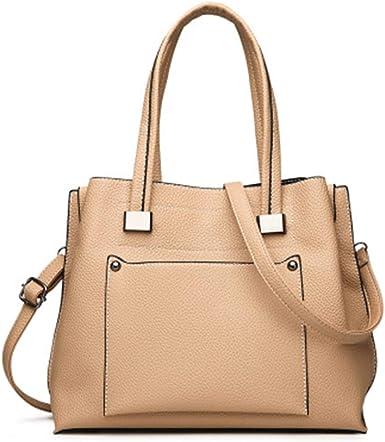 Bolso de mujer bolso de hombro diagonal moda simple casual