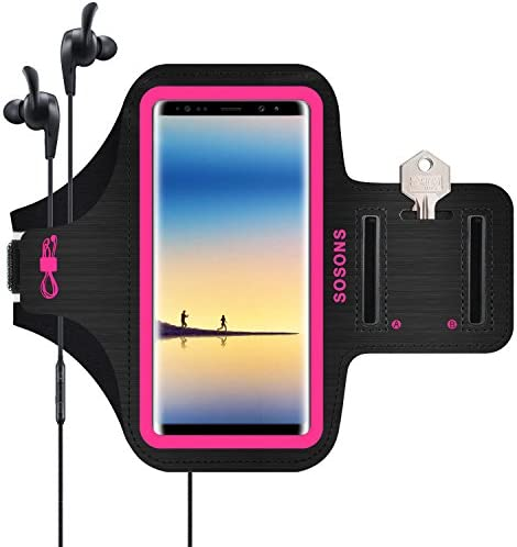 SOSONS Armband Resistant Smartphones Case Pink product image