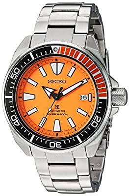 Seiko ' Prospex' Automatic Stainless Steel Casual Watch, Color:Silver-Toned (Model: SRPC07) by Seiko Watch Corporation