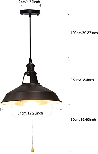 KIRIN Industrial Pendant Light Fixture