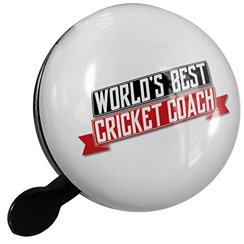 Small Bike Bell Worlds Best Cricket Coach - NEONBLOND by NEONBLOND