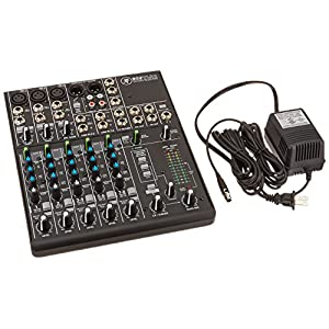 Mackie 802VLZ4, 8-channel Ultra Compact Mixer with High Quality Onyx Preamps