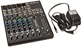 Mackie 802VLZ4, 8-channel Ultra Compact Mixer with High Quality...