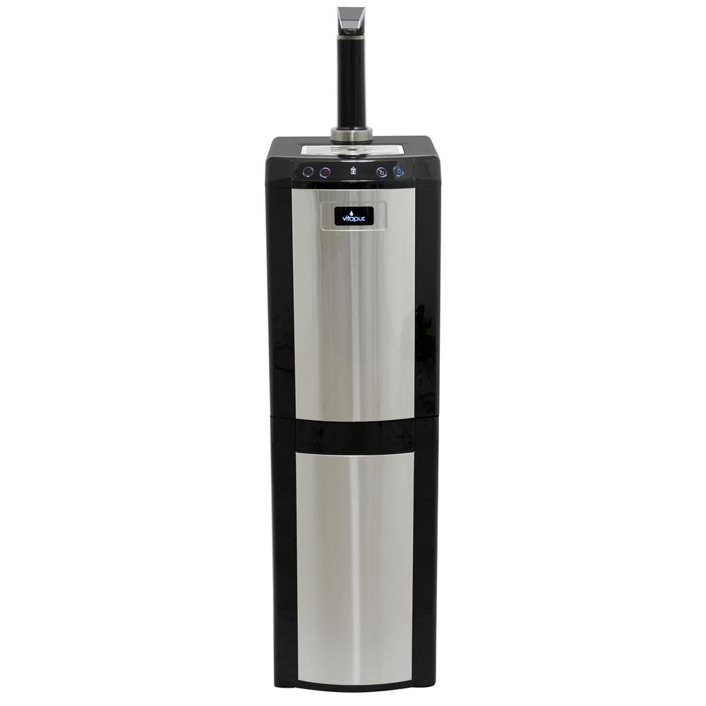 Vitapur VWD1076BLST Bottom Load (Hot, Room and Cold) Black/Stainless Steel Water Dispenser one size