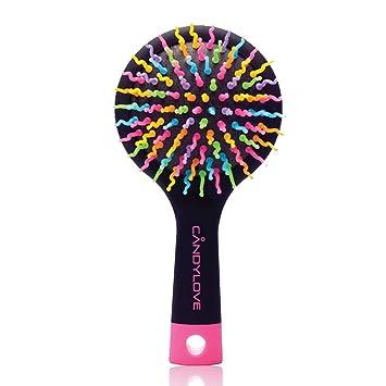 Amazon.com: candylove desenredar & Voluminizadora cepillo ...