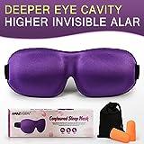 AMAZKER 3D Invisible Alar Deep Orbit Sleep Eye Mask