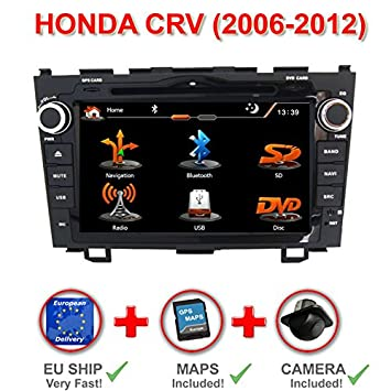 "RADIO GPS 2DIN 7"" HONDA CRV 2006-2012. CD, DVD, USB"