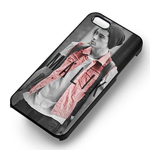 Cute In Beannie pour Coque Iphone 6 et Coque Iphone 6s Case (Noir Boîtier en plastique dur) L6D5OT