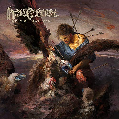 Cassette : Hate Eternal - Upon Desolate Sands (Cassette)