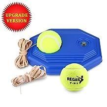 Tennis Trainer, Tennis Self Practice Tennis Ball Rebound Player with 2 Balls