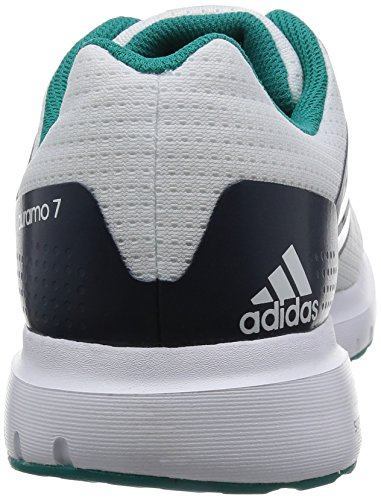 White Running adidas Duramo White Mens Shoes 7 Trainers 1t1YnwTBq