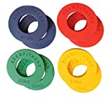 Olympic Fractional Plates 0.25, 0.50, 0.75, 1.00 Kg(.55, 1.1, 1.65, 2.2 Lbs) 4 Pairs Great Gift Idea! For Sale