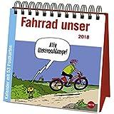 Butschkow Fahrrad unser Aufstell-Postkartenkalender - Kalender 2018