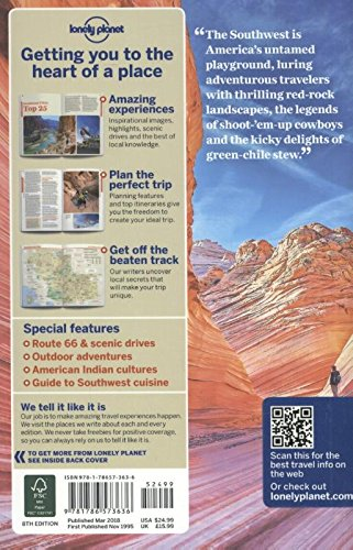 Lonely Planet Southwest Usa Travel Guide Lonely Planet Hugh