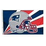 NFL New England Patriots 3-by-5 Foot Helmet Flag