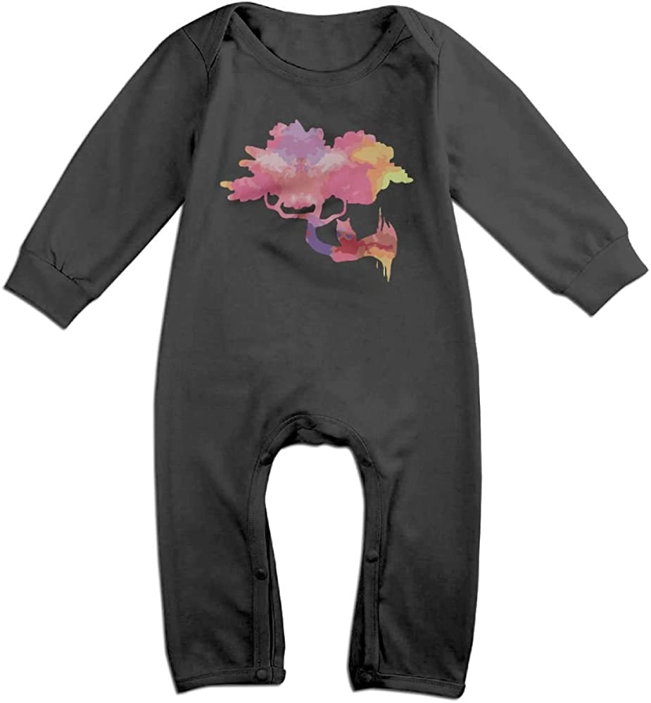 Mri-le1 Baby Boy Organic Coverall Owl Baby Rompers