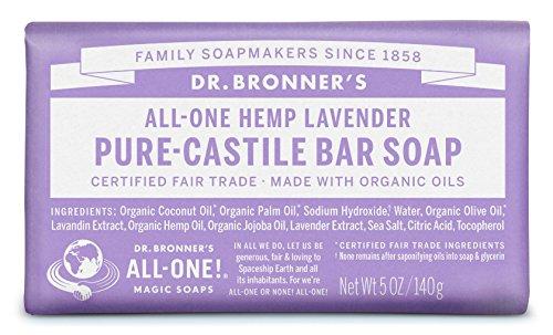 Dr. Bronner's Organic Castile Bar Soap - (Lavender, 5 oz)